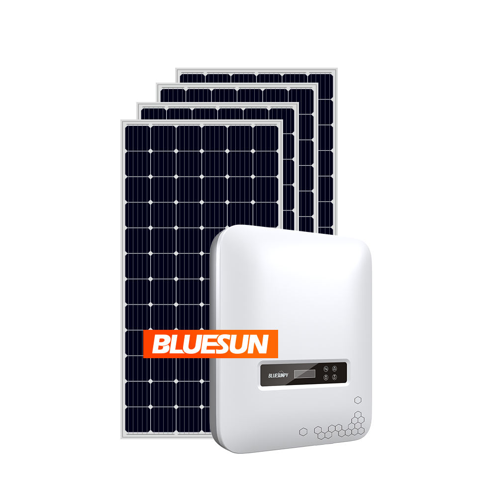 Solar Power System 6Kw 7kw 8kw Grid Tied Solar Power System Solution