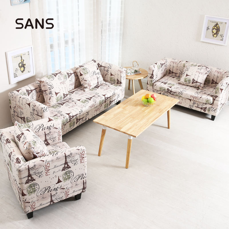 Small Cheap Modern Standard Cozy Fabric Linen 3 2 1 Best Arm Loveseat Sofa Set with Cushions for Livingroom