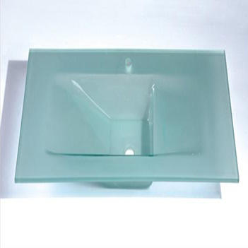 High quality products Tempered glass basin wash for bathroom discount price