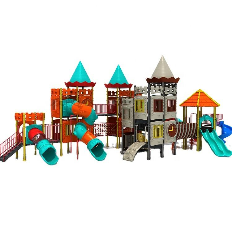 Large unique design kids outdoor playground, outdoor playground