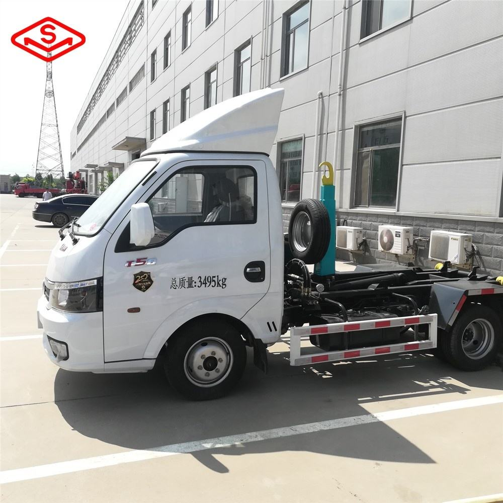 SHIMEI ElectricFactory Directly Sales 5Tons Roll Off Skip Garbage Truck