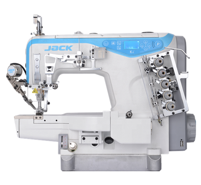 Jack- K4-ut Cylinder-bed High Speed Computerized Flat Seaming Interlock Sewing Machine