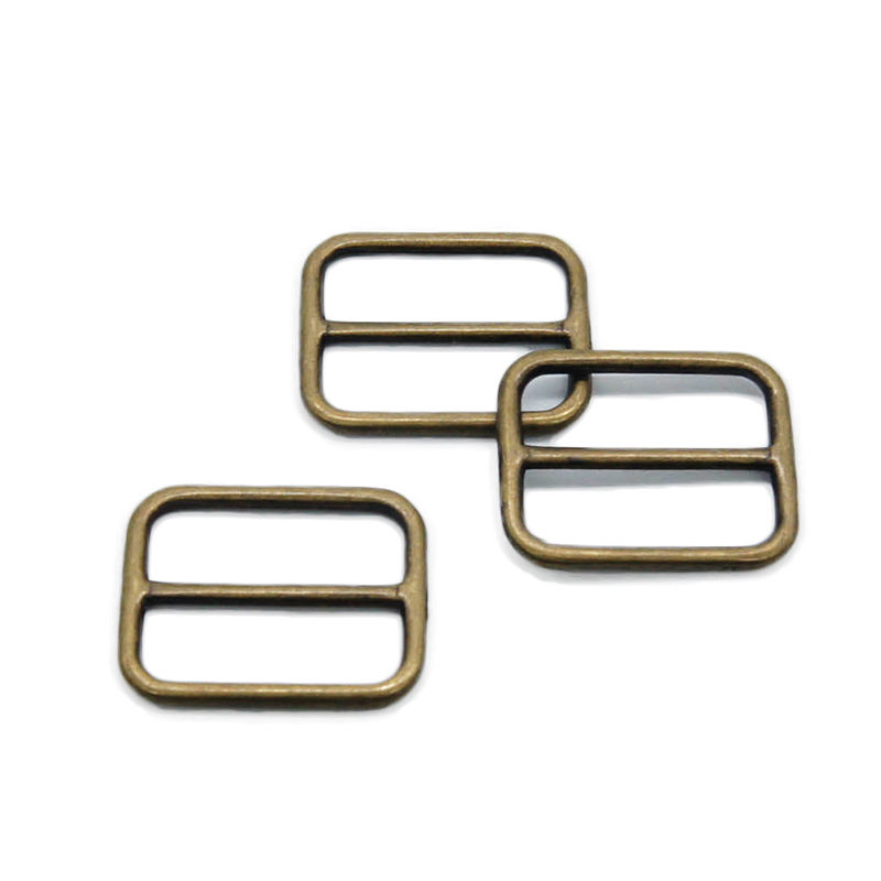 Stainless Tri-glide Certe Inner Size 20.5mm Metal Buckle for Bags and Belts