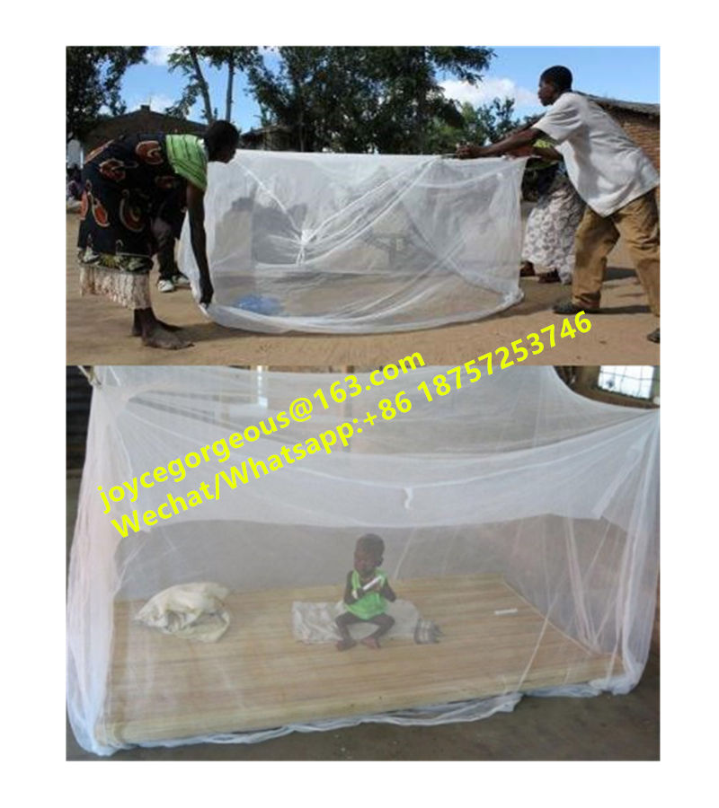 LLIN Long Lasting Mosquito Net/ Double Bed King Size Mosquito Net/Moustiquaires africaines Moskitonetze