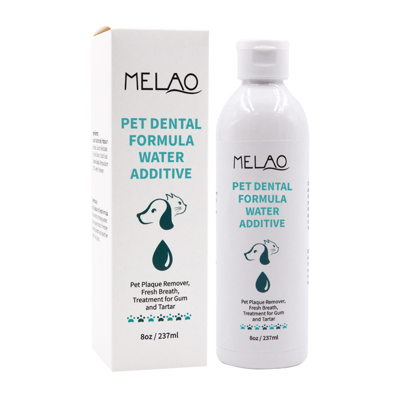 Logo personalizzato/Private label/MELAO 237ml pet dentale acqua <span class=keywords><strong>formula</strong></span> additivo a spruzzo