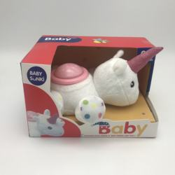 20CM BABY SOOTHING SOFT TOYS W/H LIGHT&SOUND NOT INCLUDE BATTERY