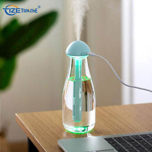 New Cool Products Mini Evaporative Humidifiers LED Colorful Change Usb Ultrasonic Diffuser Portable Air Humidifier