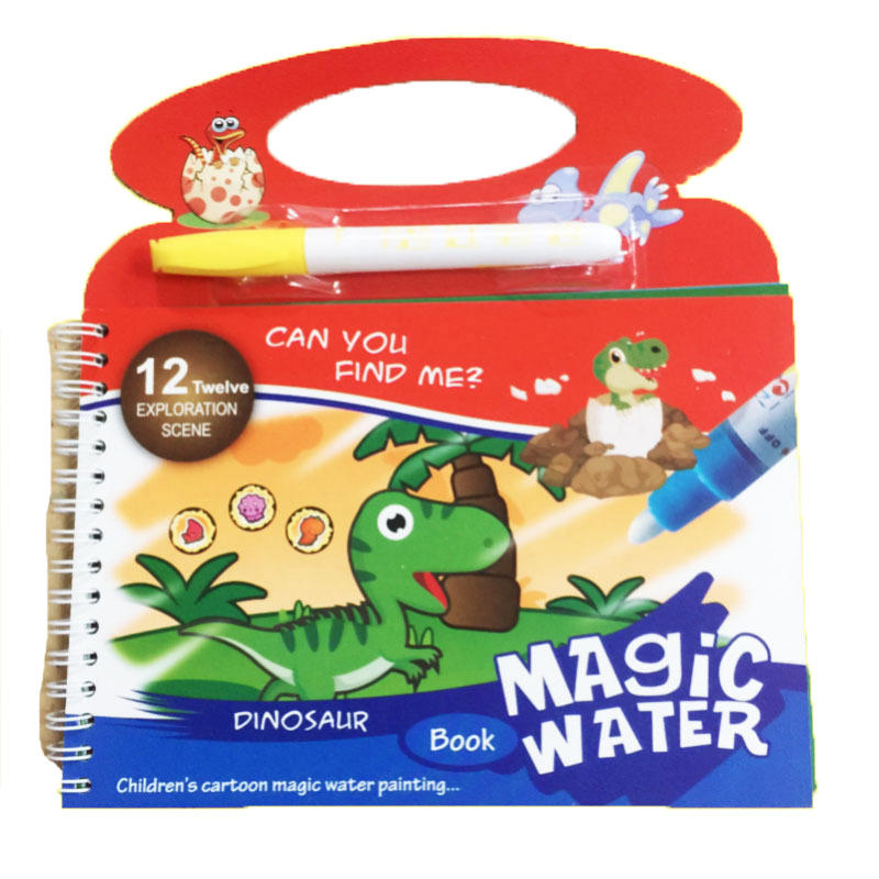 Magic Water Drawing Cloth Book Coloring Painting Writing Reusable Coloring Activity Book