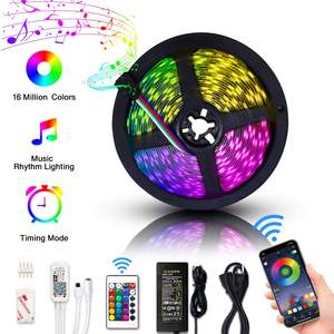 Alexa Amazon Smart Phone Controlled WiFi Wireless 5050 RGB 5m LED Strip Light