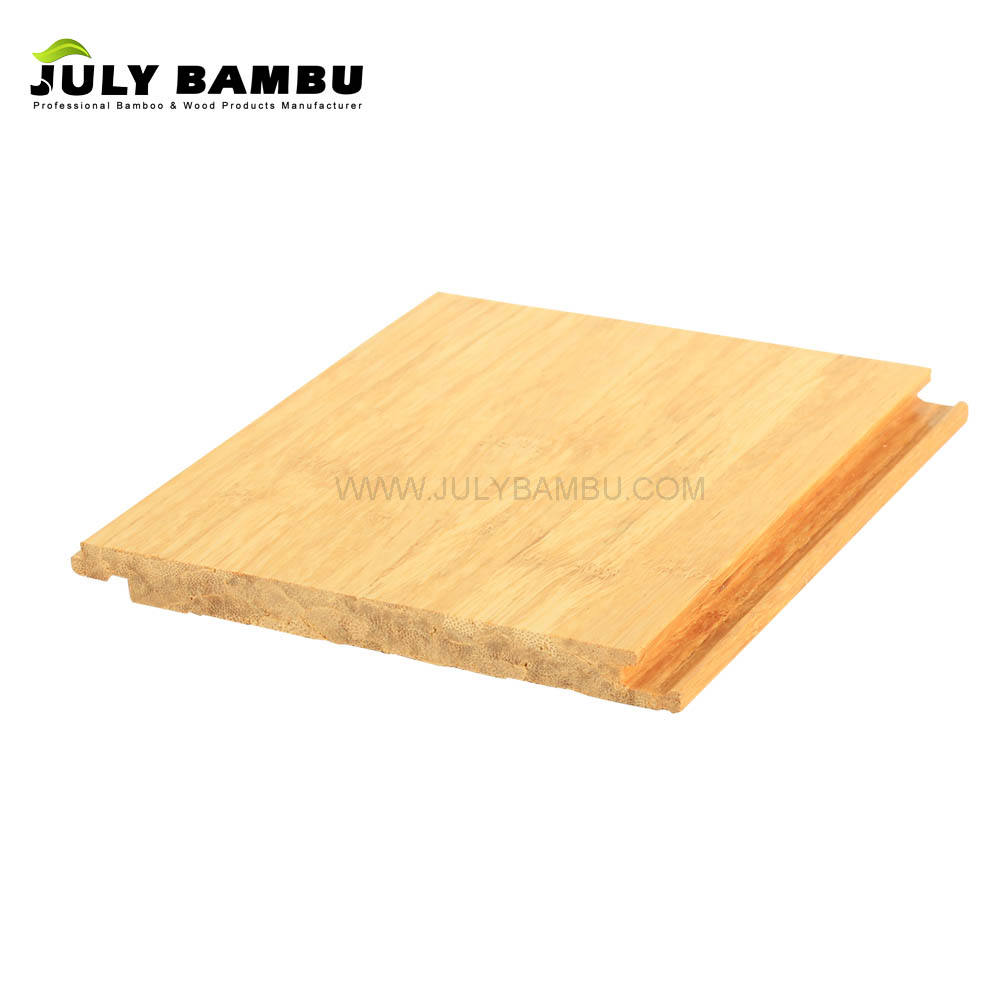 White Strand Woven Bamboo Hardwood Flooring Use for Indoor