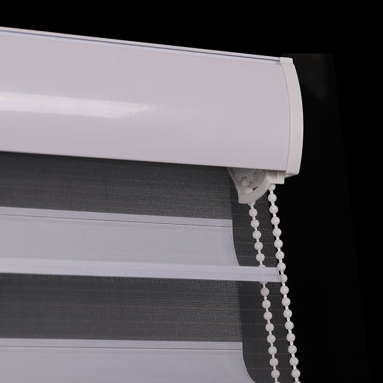 Hot Sell Shangri-la Blinds With Bead Rope Manual Control Venetian Style Window Curtains