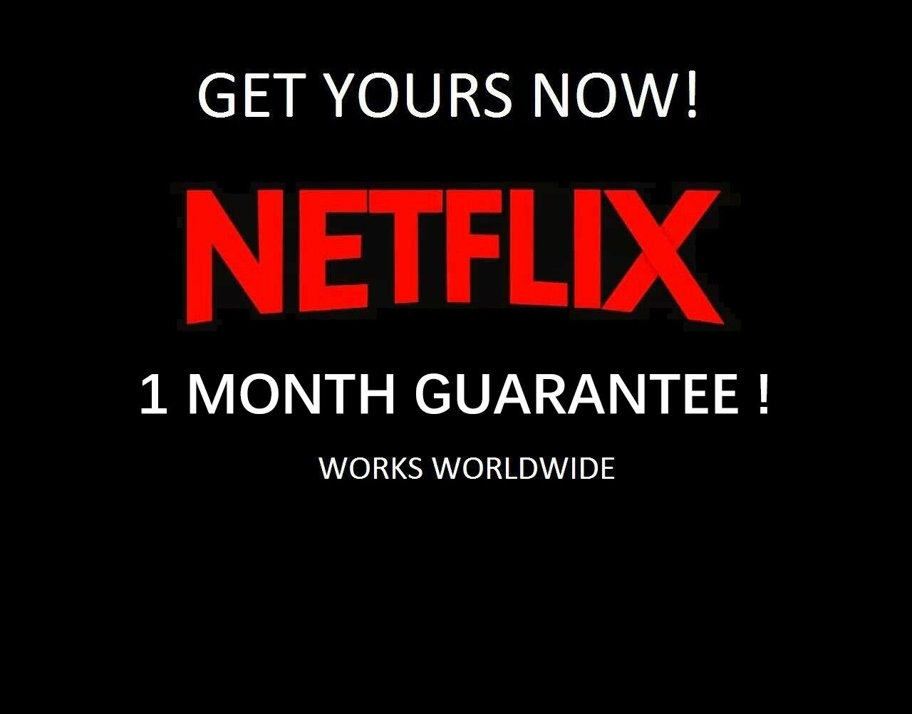 Netflix Account for Netflix Subscription Original 4K Premium Netflix Acc for 4 Screen can used in IOS Android and PC