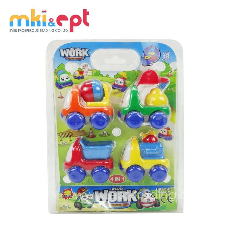 Friction Car 2018 New Design Hot Selling Item Truck Designs Kids Plastic Mini Friction Car For Sale