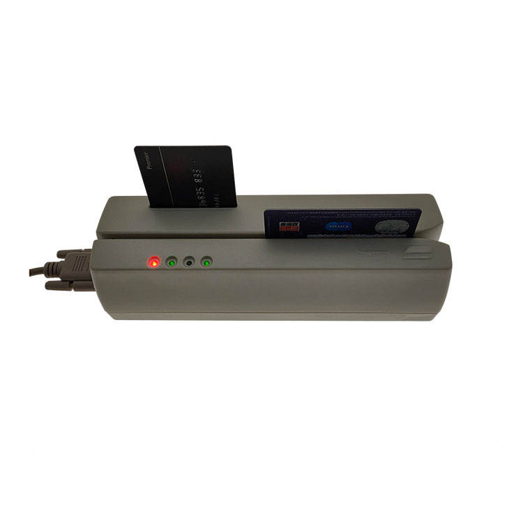 Magnetic IC Card Reader & Encoder with Chip Card Module F2600-IC