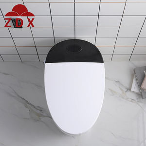 Factory direct high-quality smart one-piece toilet with white lid