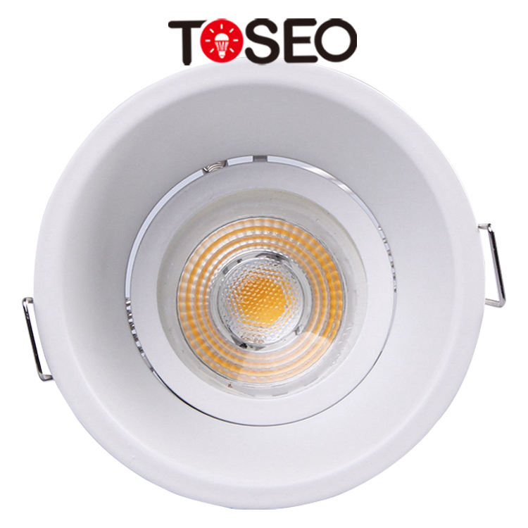 LED CeilingLight Embedded Die-Cast Aluminum Indoor Lighting Fixture Anti-Glare Hidden Gu10 MR16 COB Downlight