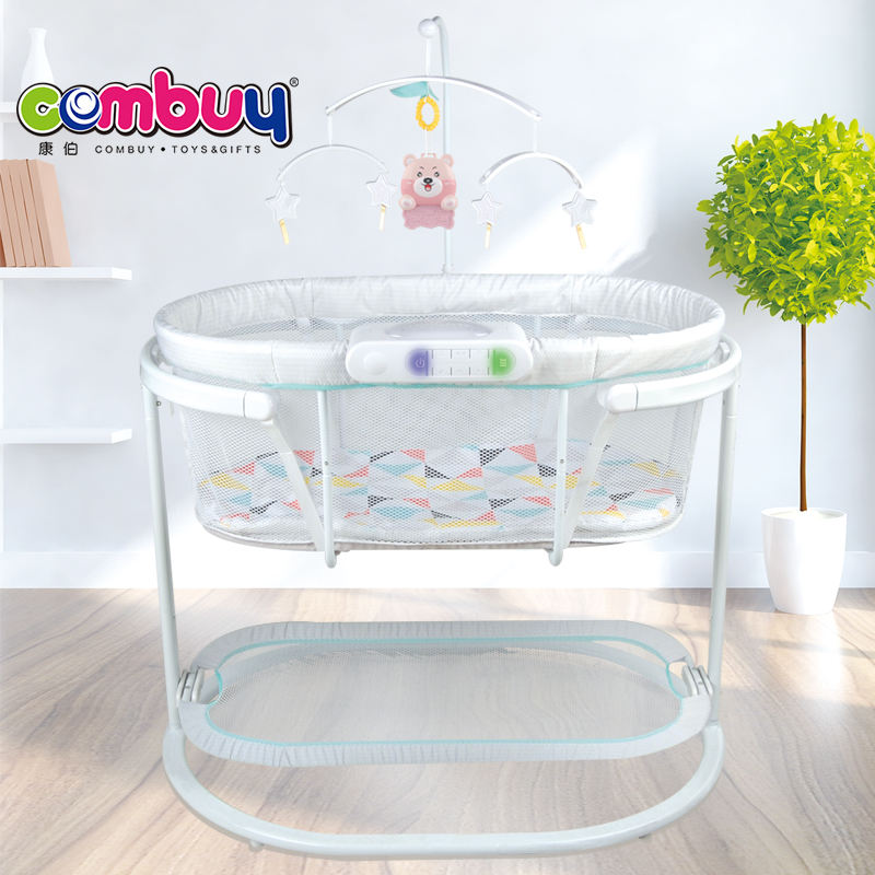 Projection musical electric vibration bed toy baby automatic cradle swing
