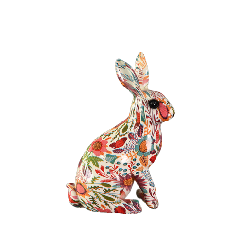 water transfer printing craft supplies new easter bunny decoration