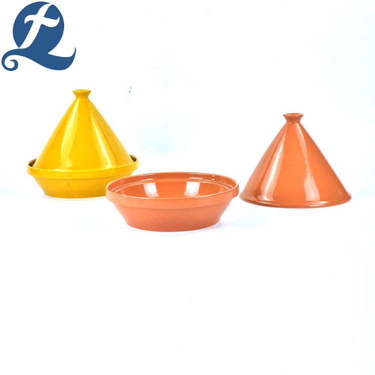 China production unique design mini tower foundation shape soup pots