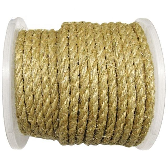 14mm sisal rope with spool