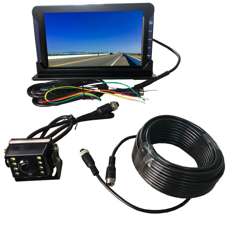 Hot Selling CCTV System 7 inch IPS Monitor Built-in Front Camera1080P With Reverse Camera 720P For Bus/Truck