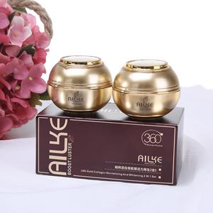 Ailke 24K Gold Collagen Revitalizing Beauty Creams And White Face Whitening Cream ailke crme pour le visage