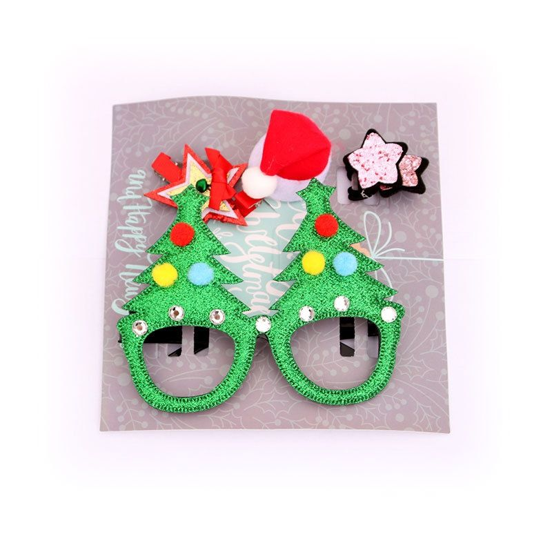 2020 New Design Colorful Best Kids Toy Glasses Frame for Christmas gift , green red gold color