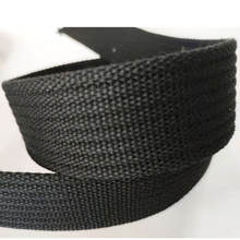 45mm Grooved Cotton Webbing Roll Durable Strap for Belts Bags