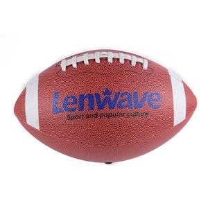 Lenwave marke mini american football ball benutzerdefinierte leder american football
