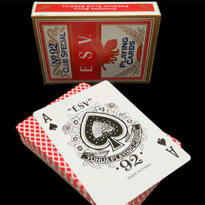 2020 di alta qualità su ordinazione 310 gsm Germania nero core Bulk carte Deck casino bicicletta carte da gioco