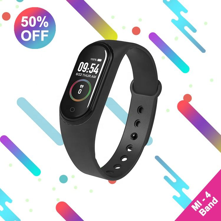 Mi Band 4Xiaomis Global Version 1:1 Original Mi Band 4 Mi Band4 M4 Bracelet For Android IOS Smart Phone