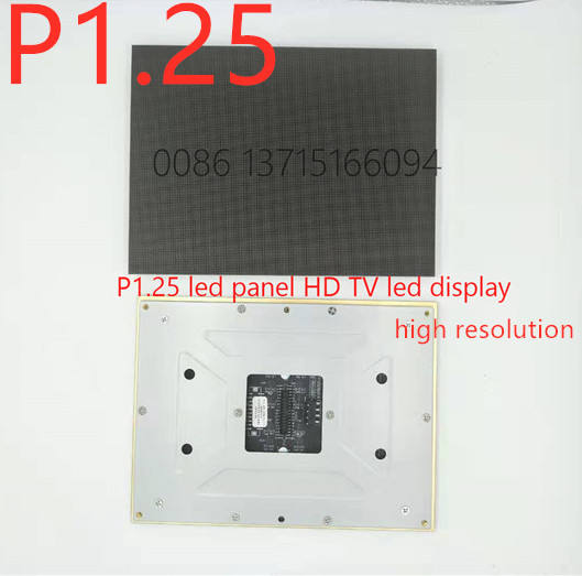 4K Resolution Display P1.25 P1.66 P1.875 Cabinet size 600x337.5mm 16:9 Gold Ratio indoor ads led video wall