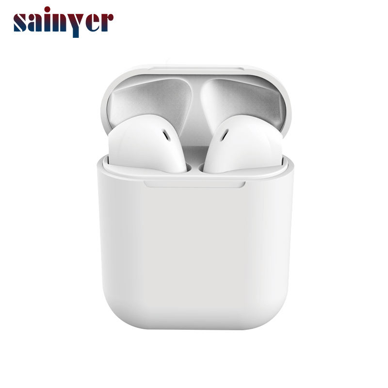 Promotional Products 2020 TWS Wireless Earbuds I12 Headphone Waterproof Bluetooth Earphone