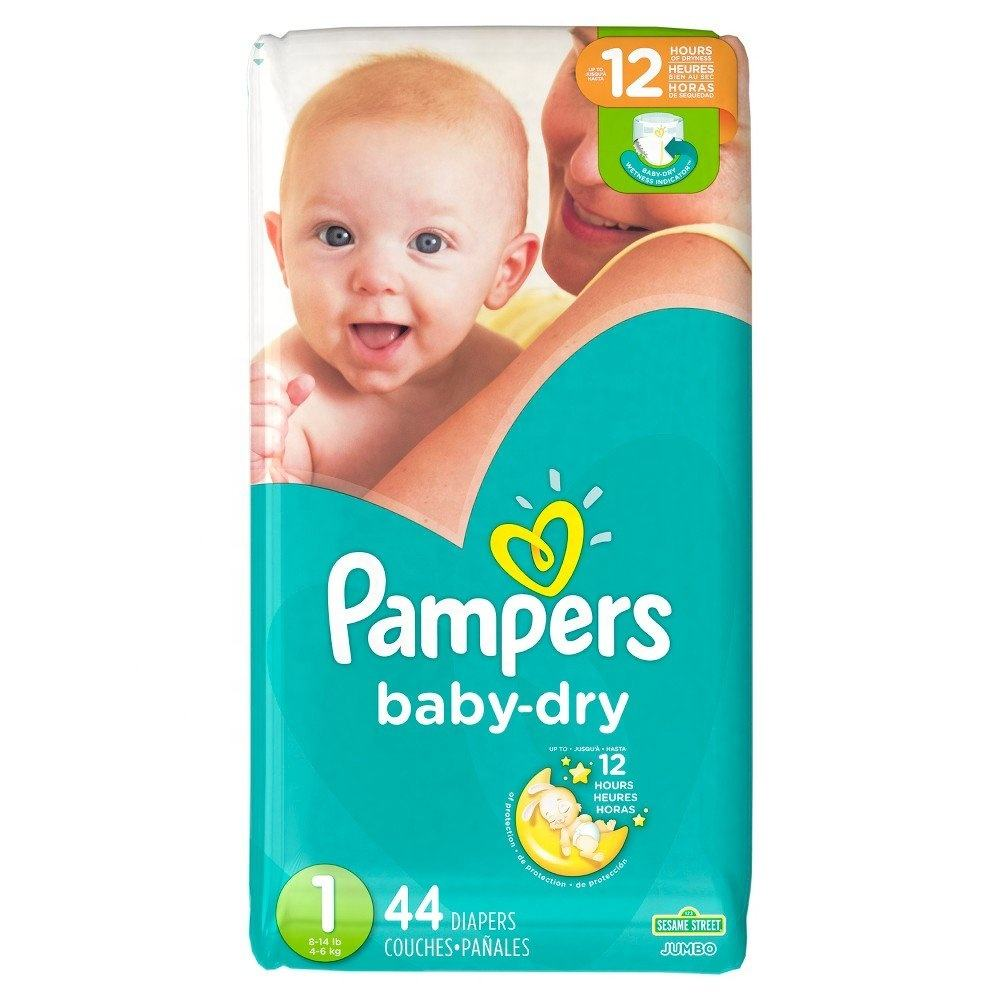 Pampers Baby Dry Size 2 Super Pack Disposable Diapers 112 counts