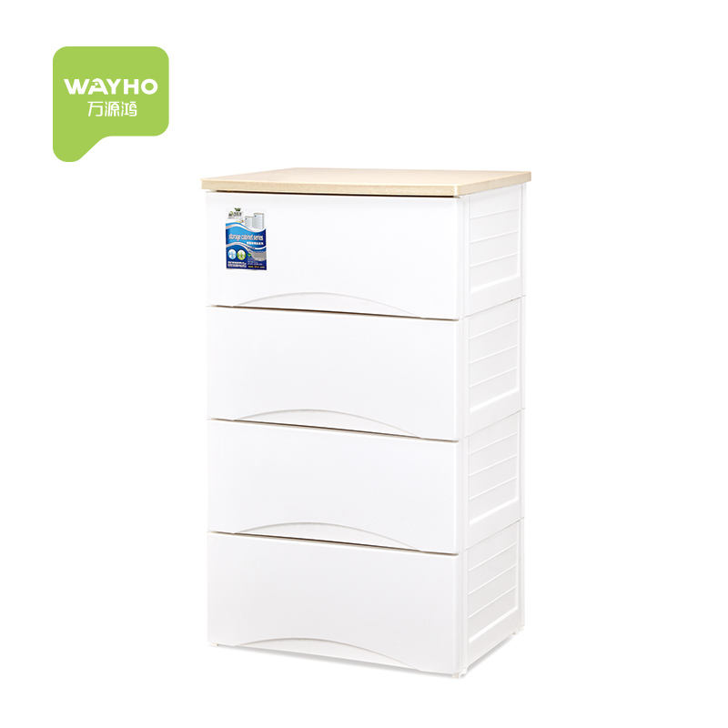 Wholesale hot sell Eco-friendly 5 drawers small plastic Baby toy storage cabinet living room