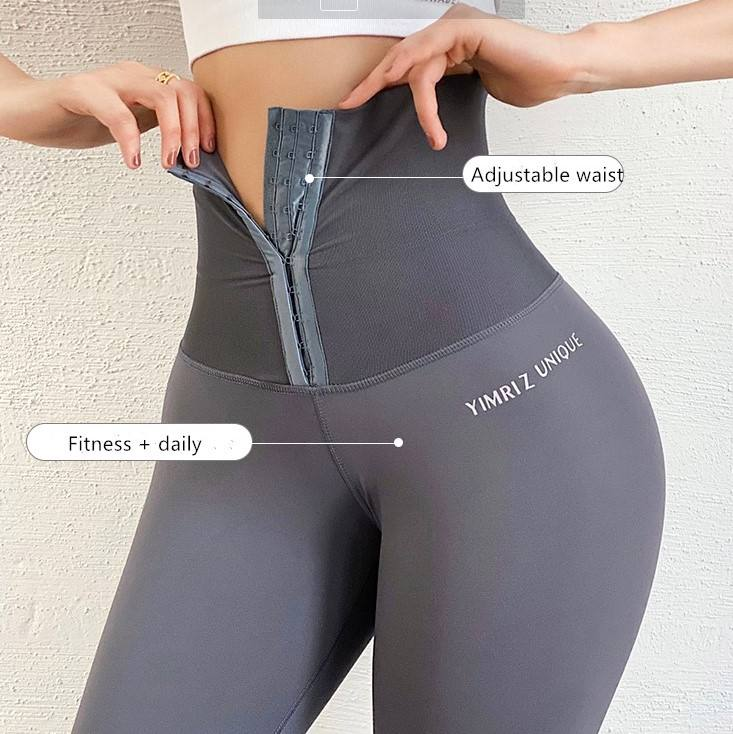 Cloud Hide Women Yoga Pants High Waist Trainer Sports Leggings Long Tights Running Trouser Workout Tummy Control Panties