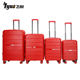 Custom luggage tag hard shell suitcase pp fashion trolley suitcase luggage bag cases sets