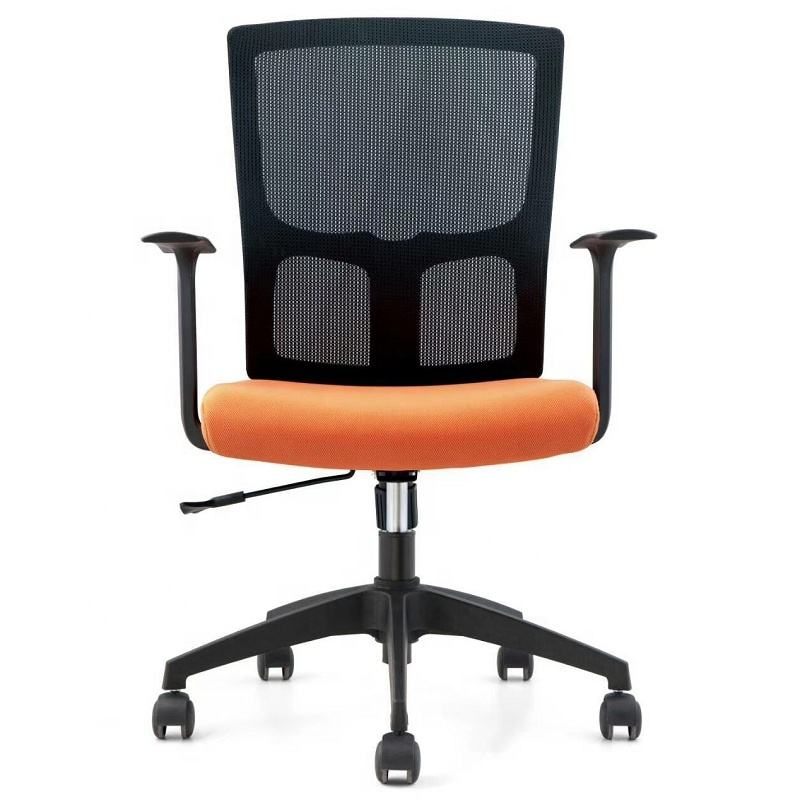 Customized medium back adjustable student task chairs computer office workstation swing king throne chair