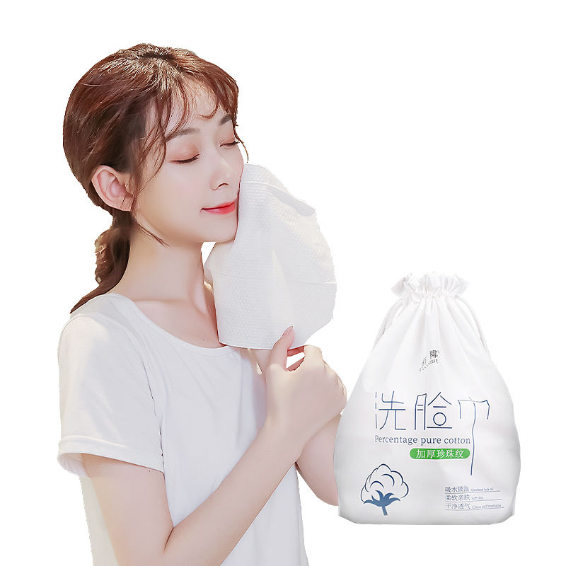 Customized facial wipes Cotton tissue paper