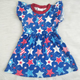 2020 RTS fashion baby girls dresses 4th of july stars kids boutique children pretty party dress princess girl dresses