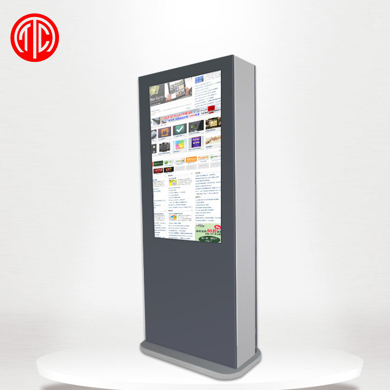 55 pollice floor stand in negozio all&#39;aperto digital signage <span class=keywords><strong>lcd</strong></span> display monitor touch screen chiosco con pc