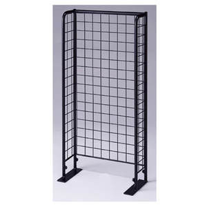 new product boutique store furniture display metal wire slatwall panel