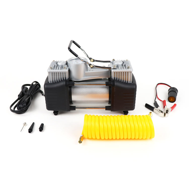Portable Air Compressor Dc 12V Mini Car Air Compressor Electric Micro Vacuum Pump