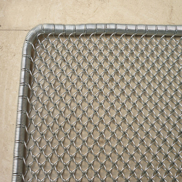 Anti Slip Tikar Stainless Steel Grid Pintu Tikar