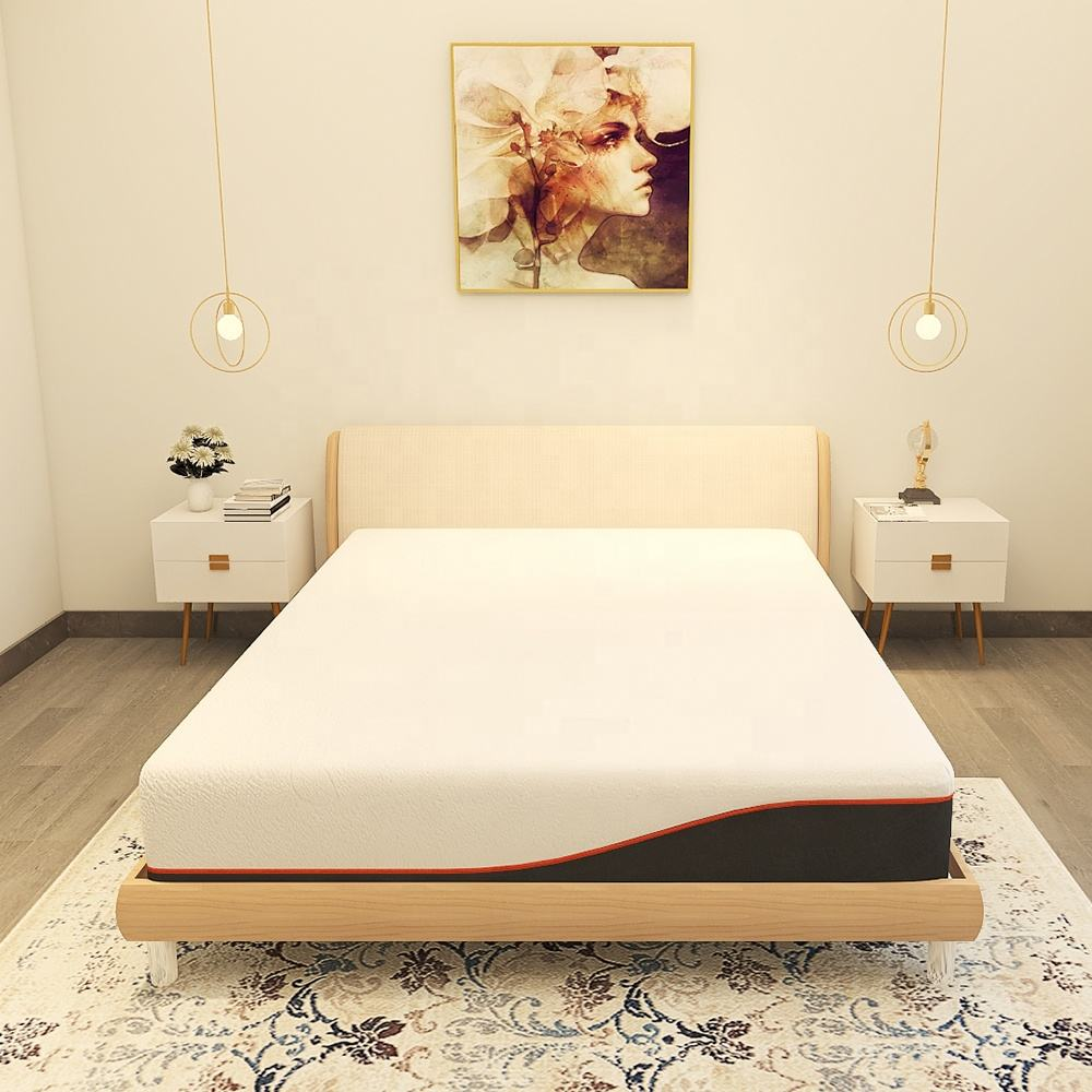 12 Inch King Size Washable Tencel Memory Foam Bed Mattress for 5 Star Hotel