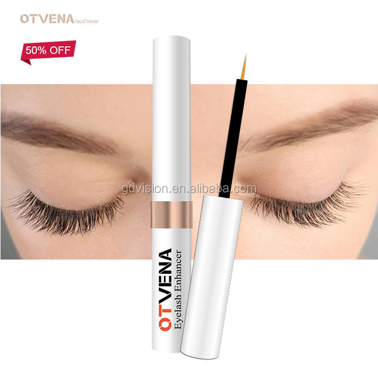 Private Label Custom korean eyelash extention safe eyebrow growth and curl serums