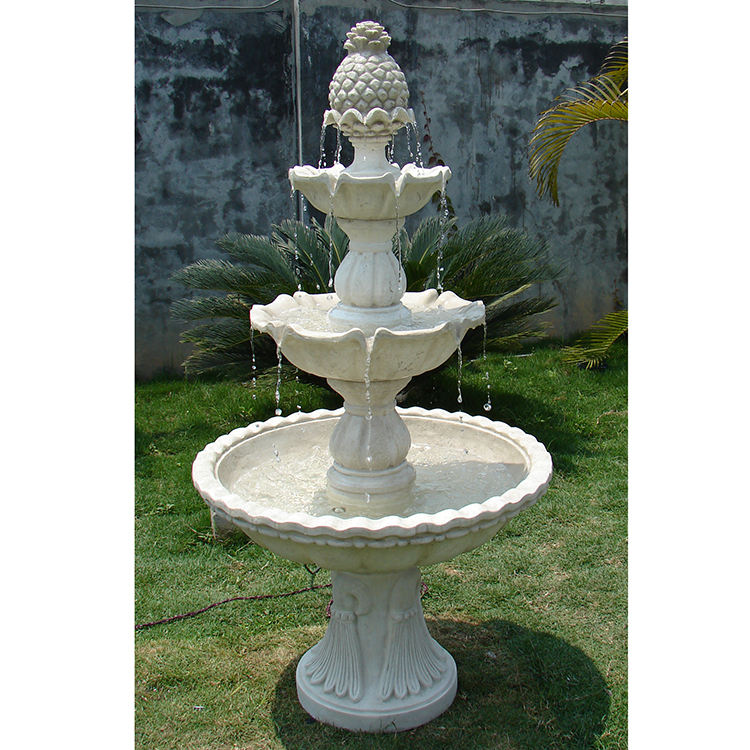 Best selling resin outdoor water features fountain from China