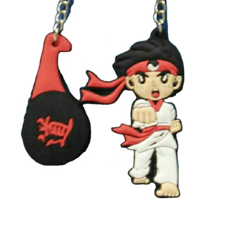 Hot selling mini punching bag boxing TKD karate judo keychain bag hanger low price