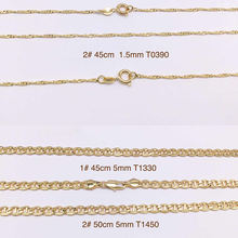 2020 xuping jewelry necklaces, Most popular fashion 18k gold plated necklace, men chain necklace