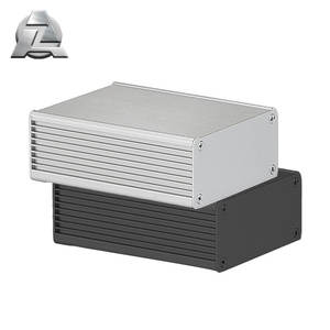 Good aluminium box section housing for amp for electronic